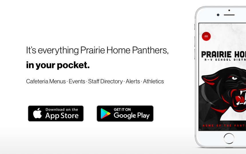Prairie Home Panthers New Mobile App