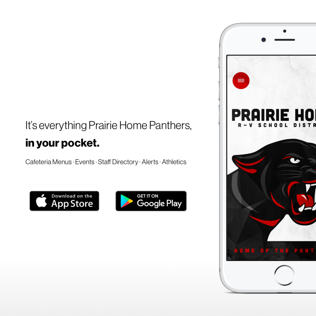 It's everything Prairie Home Panthers, in your pocket. Download the new mobile app.